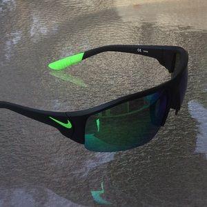 Nike Accessories - NIKE sunglasses men Authentic wrap around mirrored
